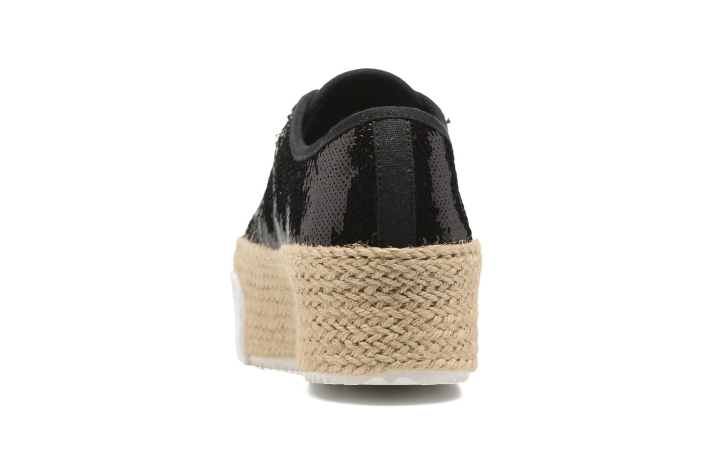 Baskets Steve Madden Sammer Noir vue droite