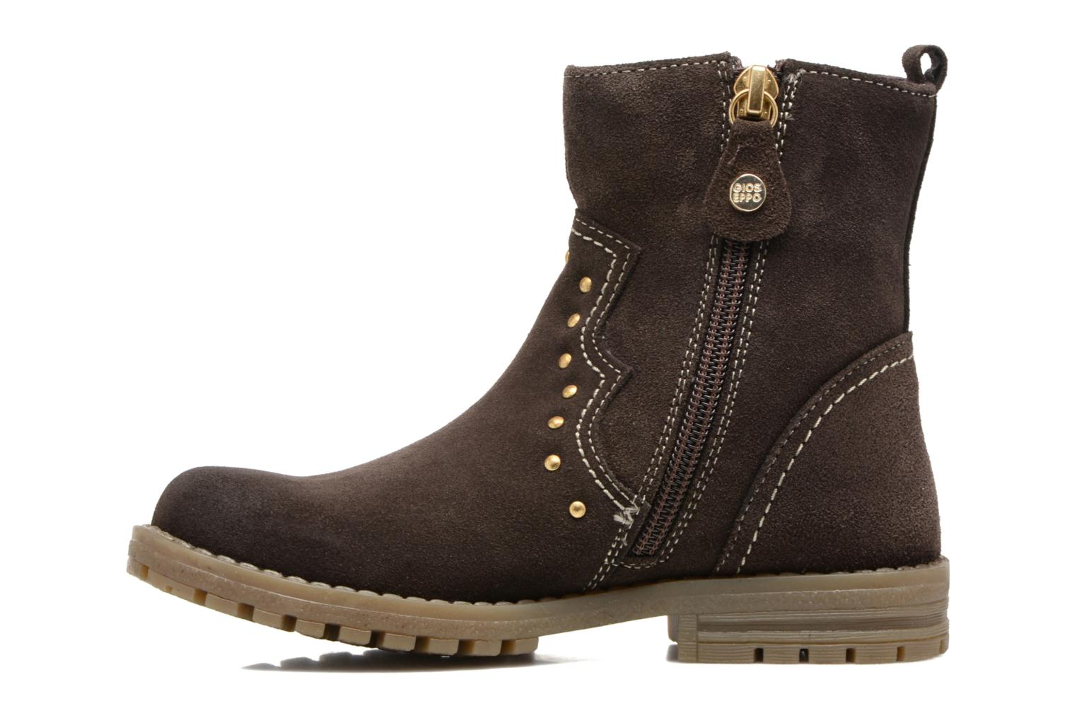 Bottines et boots Gioseppo Marshall Marron vue face