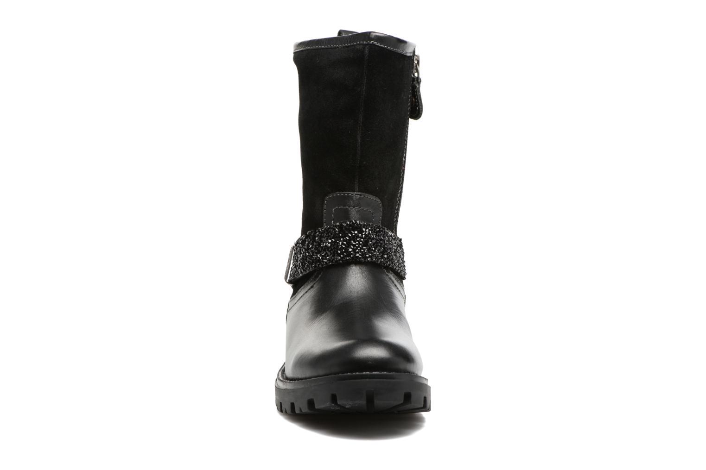 Bottes Gioseppo Motegi Noir vue portées chaussures