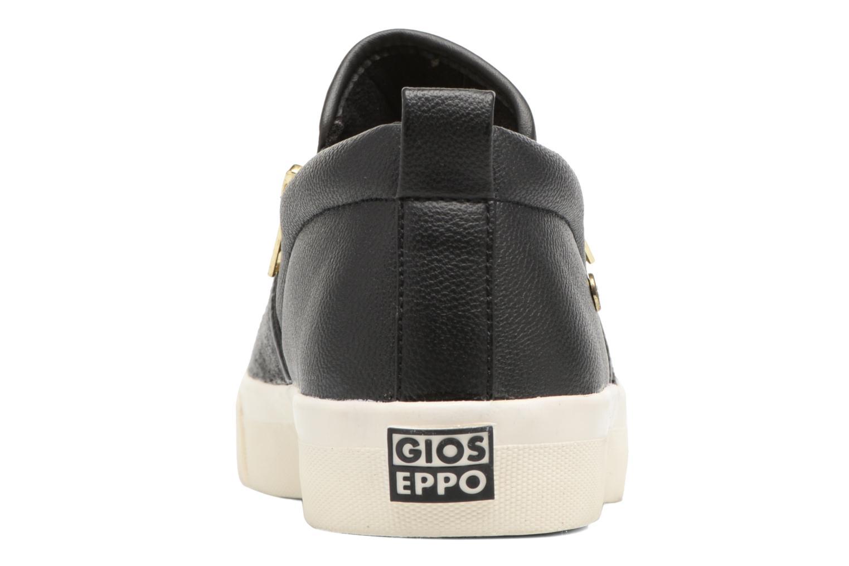 Baskets Gioseppo Amele Noir vue droite