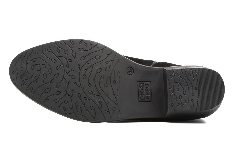 Bottines et boots Gioseppo Bastrop Noir vue haut