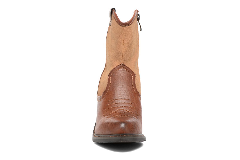 Bottines et boots Gioseppo Bertina Marron vue portées chaussures