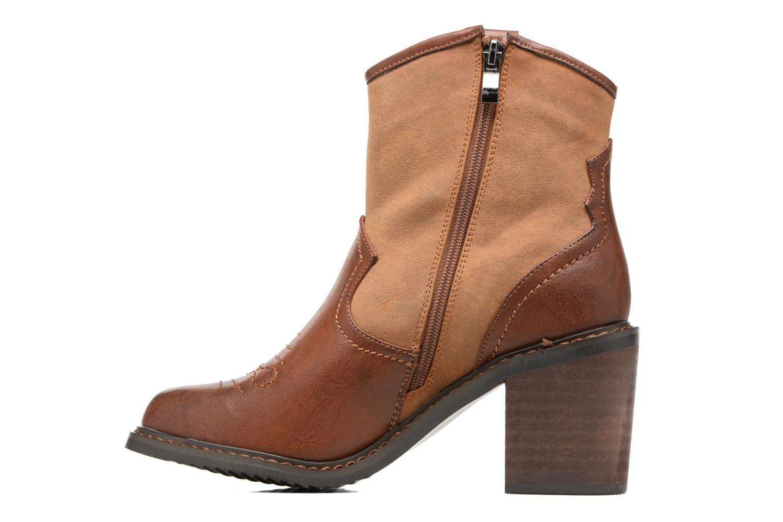 Bottines et boots Gioseppo Bertina Marron vue face