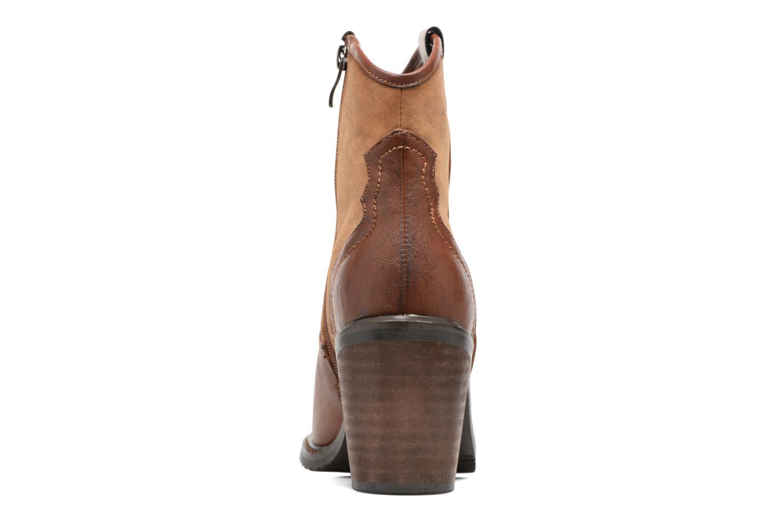 Bottines et boots Gioseppo Bertina Marron vue droite
