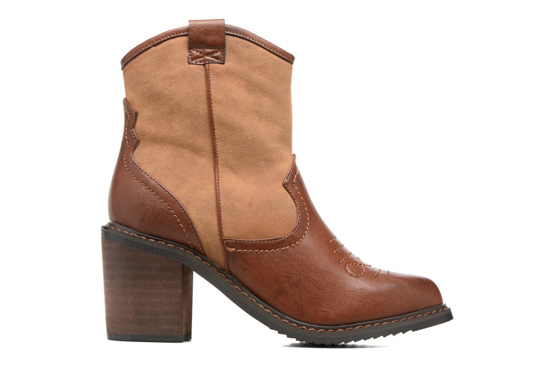Bottines et boots Gioseppo Bertina Marron vue derrière