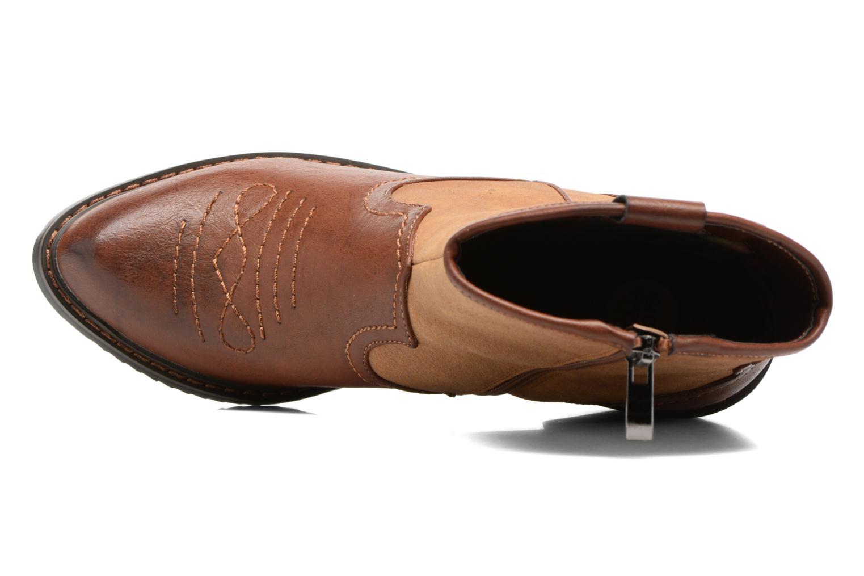 Bottines et boots Gioseppo Bertina Marron vue gauche