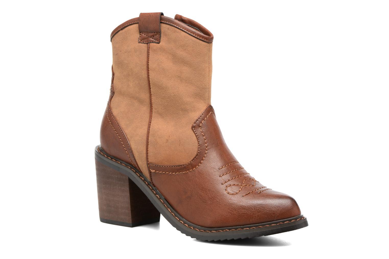 Bottines et boots Gioseppo Bertina Marron vue détail/paire