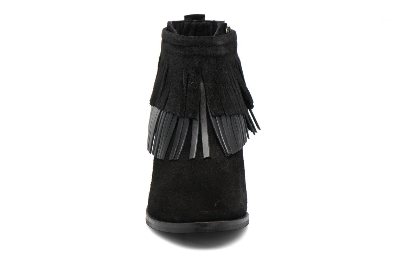 Bottines et boots Gioseppo Bisonte Noir vue portées chaussures