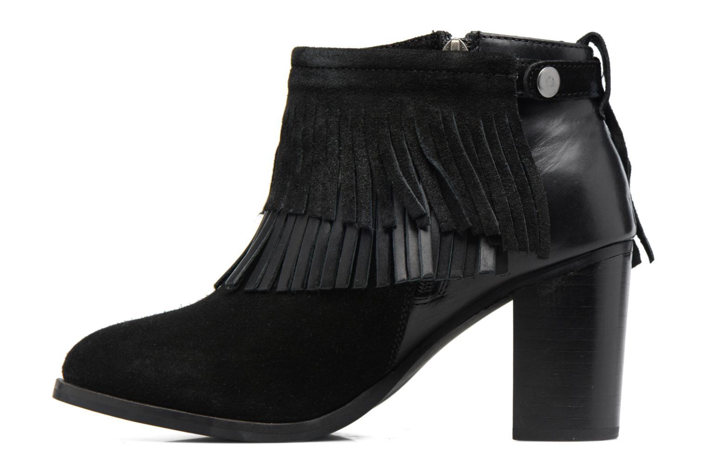 Bottines et boots Gioseppo Bisonte Noir vue face