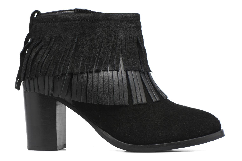 Bottines et boots Gioseppo Bisonte Noir vue derrière