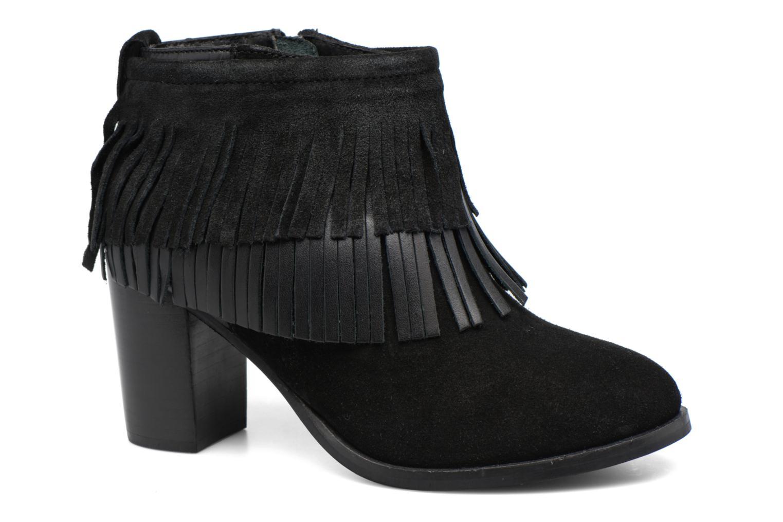 Bottines et boots Gioseppo Bisonte Noir vue détail/paire