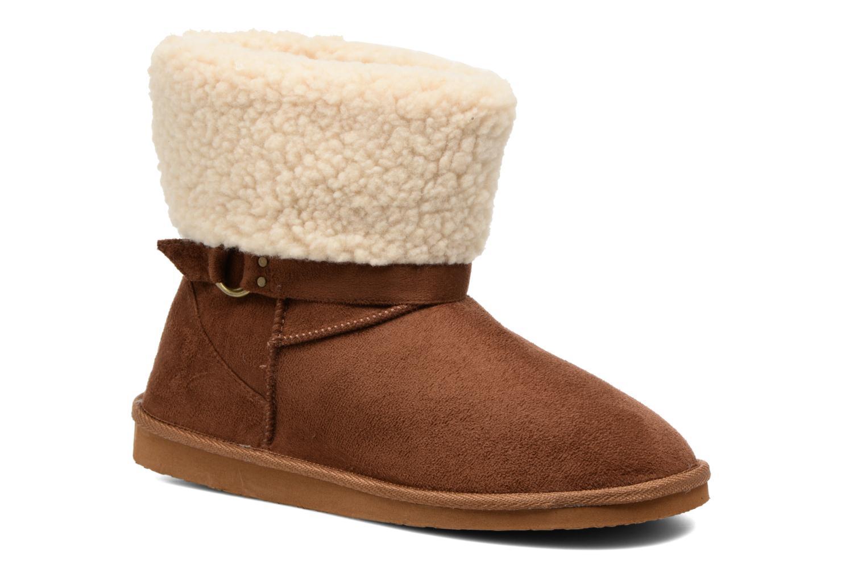 Bottines et boots Gioseppo Caims Marron vue détail/paire