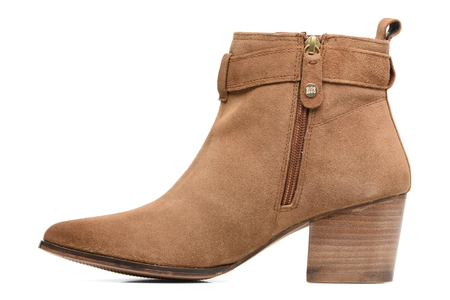 Ankle boots Gioseppo Dothan Brown front view