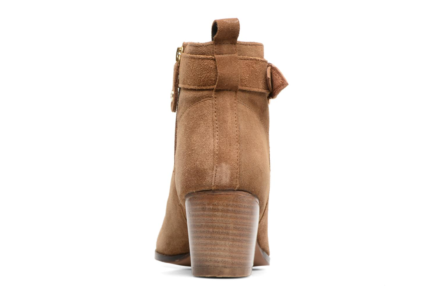 Ankle boots Gioseppo Dothan Brown view from the right