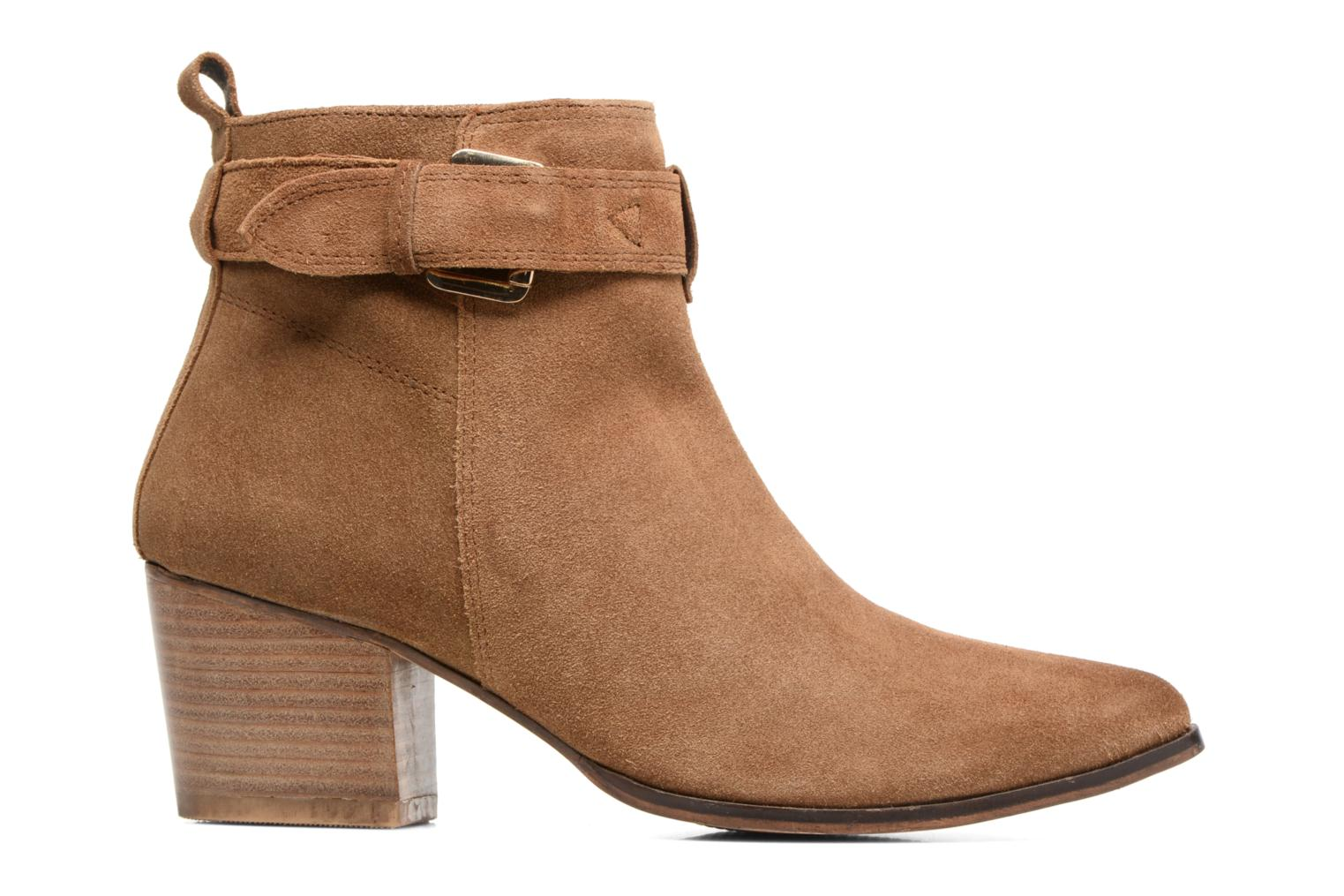 Ankle boots Gioseppo Dothan Brown back view