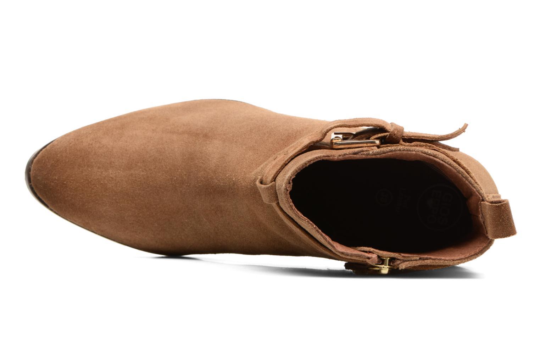 Bottines et boots Gioseppo Dothan Marron vue gauche