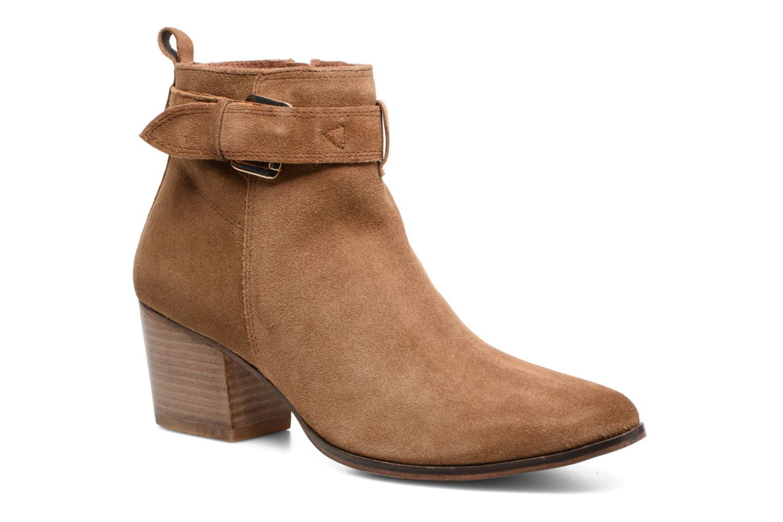 Bottines et boots Gioseppo Dothan Marron vue détail/paire