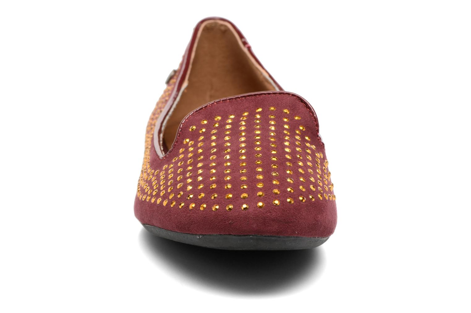 Loafers Gioseppo Gladys Burgundy model view
