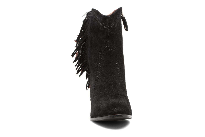 Bottines et boots Gioseppo Hoover Noir vue portées chaussures