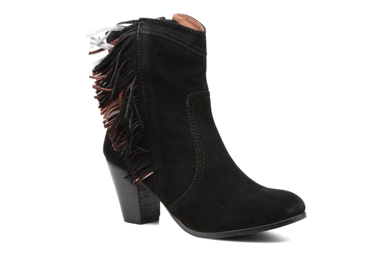 Bottines et boots Gioseppo Hoover Noir vue détail/paire