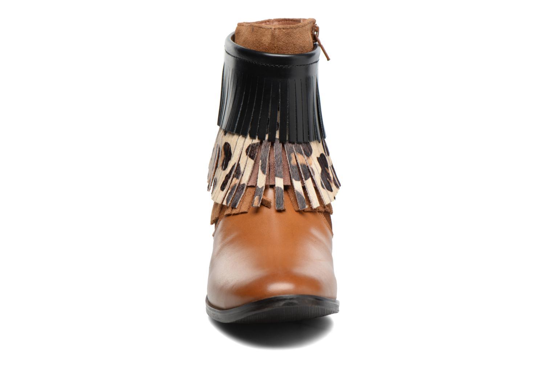 Bottines et boots Gioseppo Indiana Marron vue portées chaussures