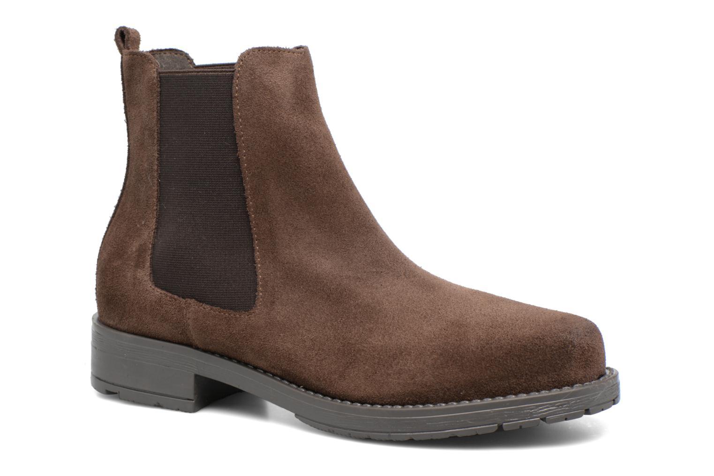 Bottines et boots Gioseppo Karath Marron vue détail/paire