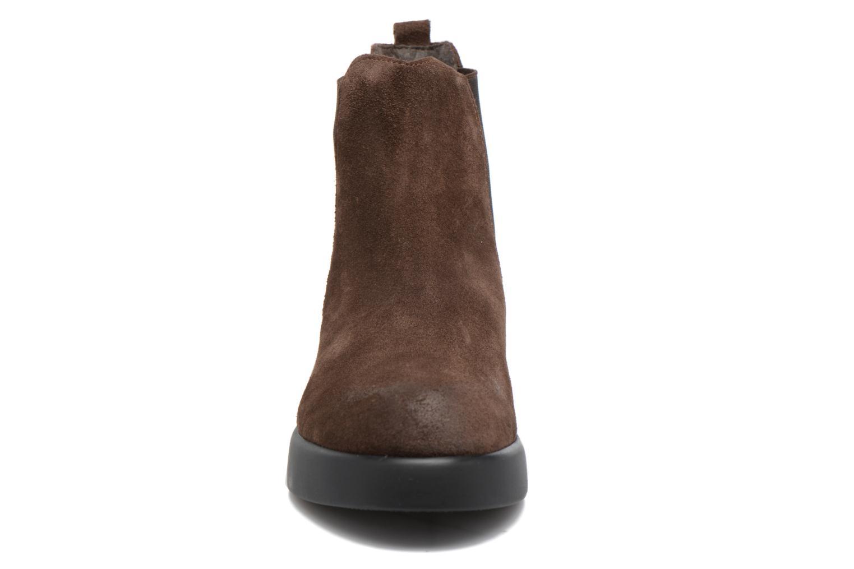 Bottines et boots Gioseppo Padme Marron vue portées chaussures