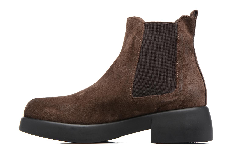 Bottines et boots Gioseppo Padme Marron vue face