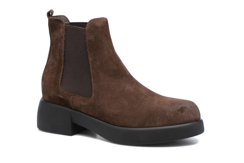 Bottines et boots Gioseppo Padme Marron vue détail/paire