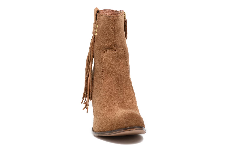 Bottines et boots Gioseppo Shelby Marron vue portées chaussures