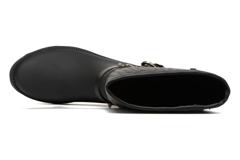 Bottes Gioseppo Tekla Noir vue gauche