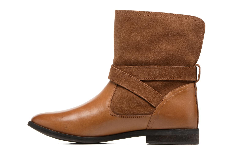 Bottines et boots Gioseppo Vermont Marron vue face