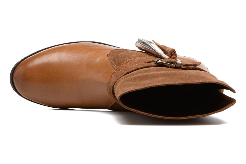 Bottines et boots Gioseppo Vermont Marron vue gauche