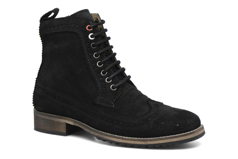 Bottines et boots Gioseppo Aneto Noir vue détail/paire