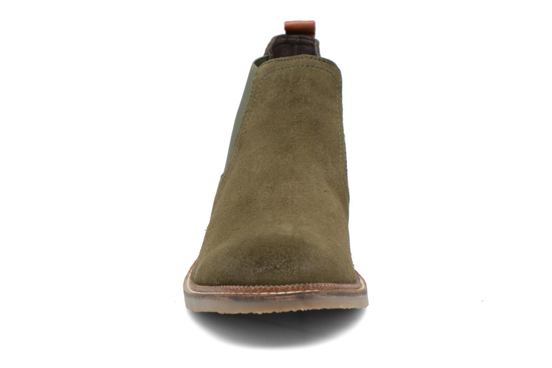 Bottines et boots Gioseppo Erebus Vert vue portées chaussures