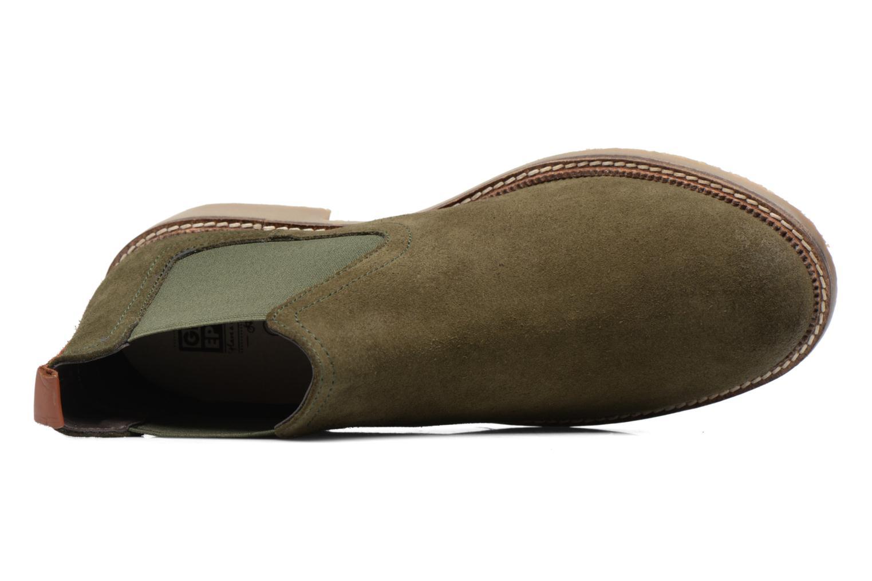 Bottines et boots Gioseppo Erebus Vert vue gauche