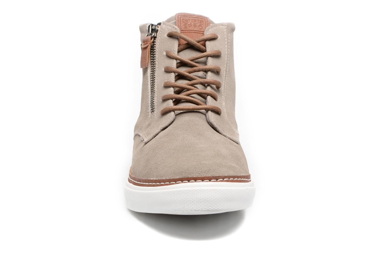 Baskets Gioseppo Nordal Marron vue portées chaussures