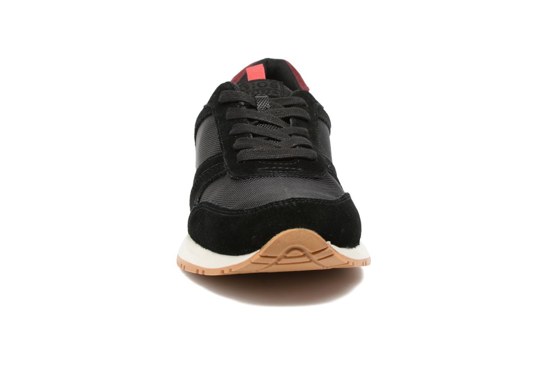 Baskets Gioseppo Valtimo Noir vue portées chaussures