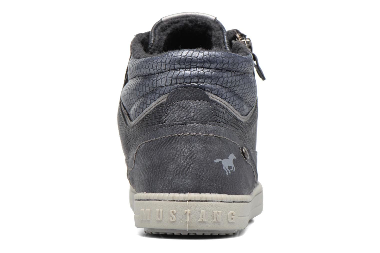 Baskets Mustang shoes Meike Gris vue droite