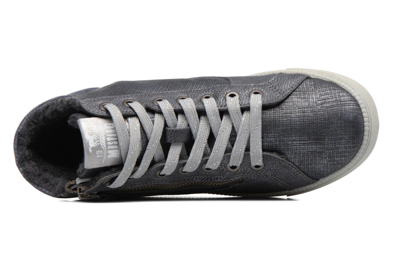 Baskets Mustang shoes Meike Gris vue gauche