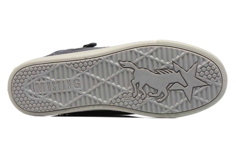 Baskets Mustang shoes Meike Gris vue haut