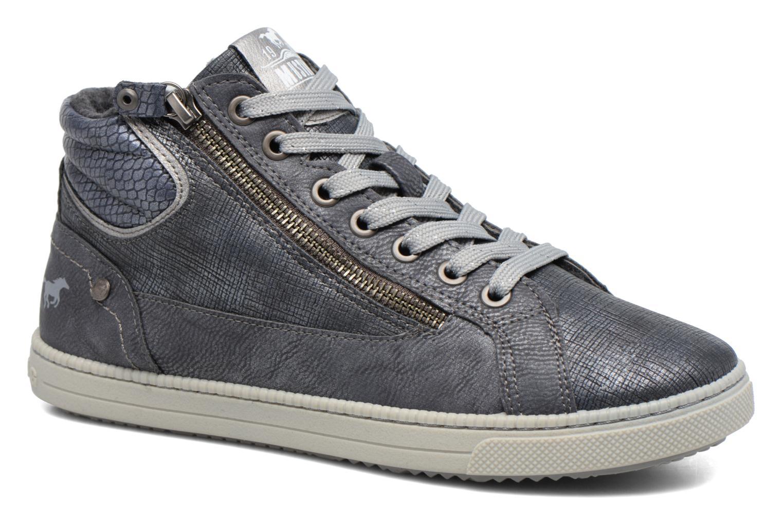 Baskets Mustang shoes Meike Gris vue détail/paire