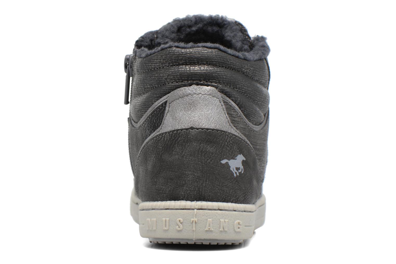 Baskets Mustang shoes Gero Gris vue droite