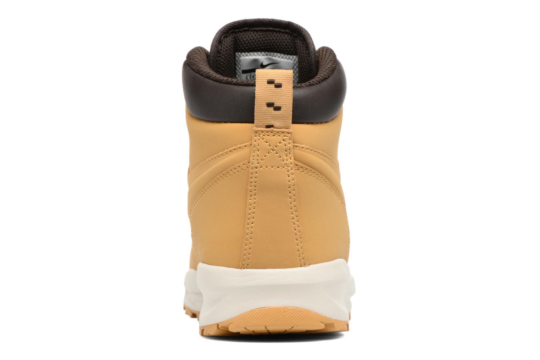 Bottines et boots Nike Nike Manoa (Gs) Marron vue droite
