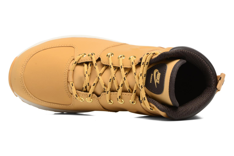 Bottines et boots Nike Nike Manoa (Gs) Marron vue gauche