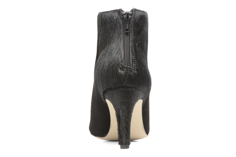 Bottines et boots Georgia Rose Girafe Noir vue droite