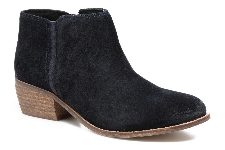 Bottines et boots Kickers Booty Bleu vue détail/paire