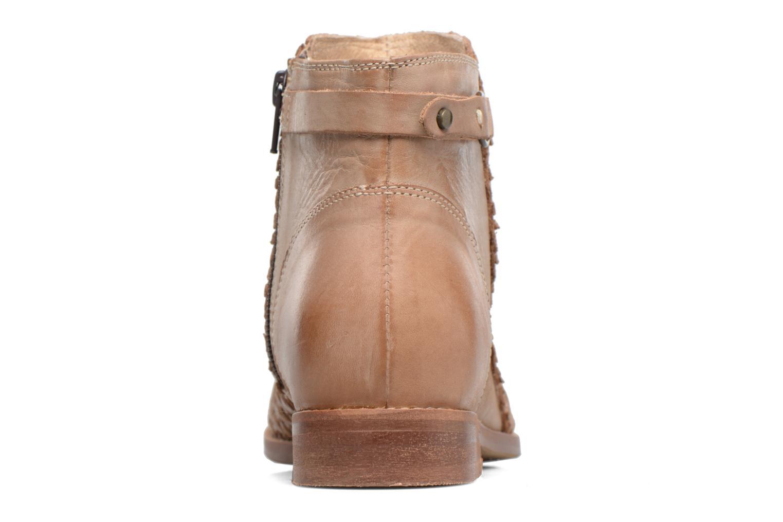 Bottines et boots Kickers Tuna Beige vue droite