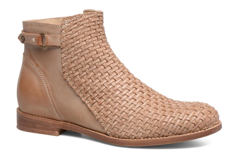 Bottines et boots Kickers Tuna Beige vue détail/paire
