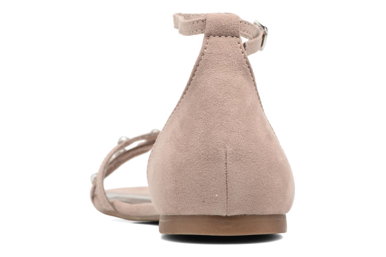 Sandales et nu-pieds Tamaris Imi Beige vue droite